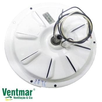Motor do Ventilador de Teto VENTI-DELTA de 3 Pás - Modelo Plus Light c/Luminária ou Plus Eco Comerci
