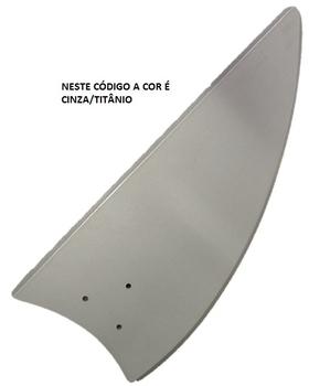 Pá Hélice para Ventilador de Teto Volare - MDF Modelo Iris Cor Cinza Titânio - Ventilador Ventax / Ventax10 - Ventilador Venti-Delta Luxo