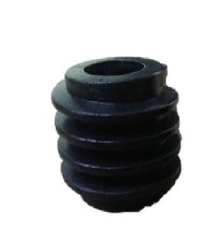 Engrenagem Rosca Sem Fim Ventilador Dômina Eixo 11,5mm - Rosca Sem Fim Domina 50/60cm - ROSCADOM