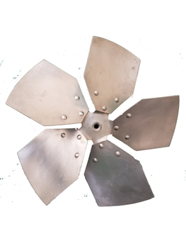 Helice para Exaustor ARGE Biruta 40cm 5Pas - Encaixe Eixo 11mm com Parafuso Lateral - HEL EXA ARGE40
