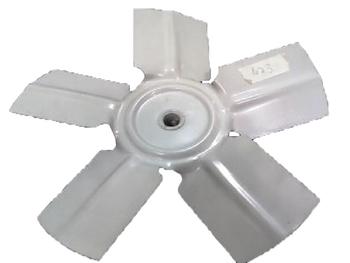 Helice para Exaustor PRIMAVERA de 30cm 5Pas - Encaixe Eixo 11mm com Parafuso Lateral - HEL EXA PRI30