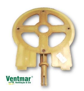 Tampa Dianteira do Motor Ventilador Venti-Delta Premium/Gold 50/60cm Eixo Maciço/Rígido - TAMPAVODTA