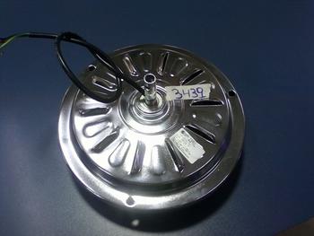 Motor do Ventilador de Teto Loren Sid M1/M2 Cromado 220v 04,0uF - Para uso com ou Sem Luminária MTLS