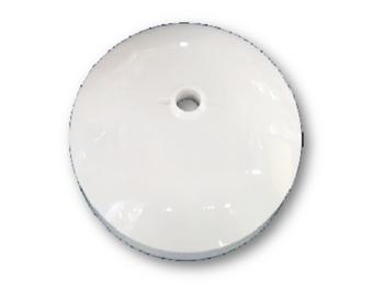 Canopla Superior Ventilador de Teto ALISEU Branco - Duo, Jet, Smart e Terral