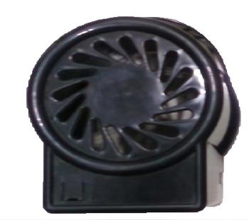 Capa do Motor do Ventilador LOREN SID Turbo 50/60cm Plástico Preto