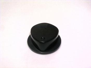 Botão Interruptor Ventilador Arno CC91 - Dimer Rotativo 3 Velocidades - Cor Preto ROT3V