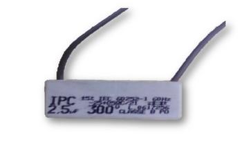 Capacitor para Ventilador Ventisol 02,5uF 2Fios 300VAC - Capacitor para Exaustor Delta Linha Pesada CAP002,5