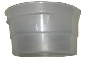 Copo Coletor de Suco de Plático - Copo para Espremedor de Frutas - Serve p/Vários Modelos Diversos - *SALDÃO*
