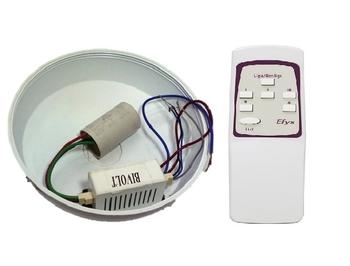 Controle Remoto Ventilador Venti-Delta Efyx Lunik 127volts - Infra Vermelho - KIT-T+R Capacitor 3Fio
