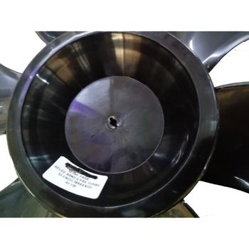 Hélice para Ventilador ARNO 40cm 6Pás - Arno TS40 Turbo Silencio Maxx&Go - Furo 08mm Trava Cruzeta