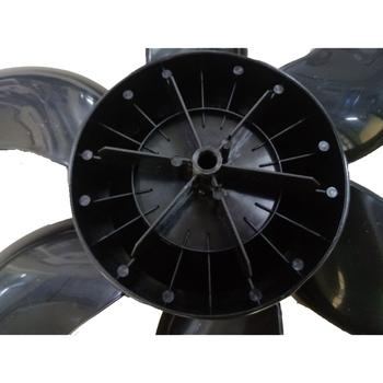 Hélice para Ventilador BRITÂNIA 40cm 6Pás Eixo 8,0mm Trava Meia Lua - Preta - Ventilador Mondial - V