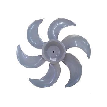 Hélice para Ventilador MALLORY 40cm 6Pás Cinza - Modelos Eco TS - Turbo Silence - Eixo 8,0mm Ponta R