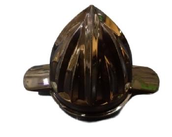 Carambola para Espremedor de Frutas MONDIAL Line Preta - Encaixe Sextavado 17mm - Carambola Uso Laranja com Abas Laterais