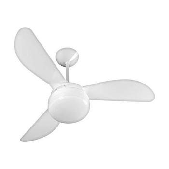 Ventilador de Teto Ventisol Fenix 127v Premium 130w Branco 3Pás Injetadas Brancas Chave 3 Velocidades - Consumo A