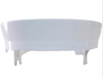 Plafon Base da Luminária do Ventilador de Teto Loren Sid - Plafon para Globo Cúpula Ventilador Pérol