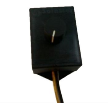 Chave para Ventilador Solaster de Parede - Dimer Rotativo de 3 Velocidades 4 fios Bivolts CVSLT ROT3