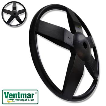 Suporte Base da Coluna do Ventilador Oscilante 50/60cm Venti-Delta Premium - Plastica Preta