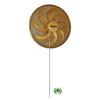 Ventilador de Parede 60cm Dômina 8Pás 127v 250w cor Ouro - Domina Practice Octopus Oscilante - Chave