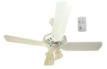 Ventilador de Teto Super Ciclone Meridional 220V03,0uF Branco 4Pás Alumínio Brancas c/Luminária Tulipa Flor Plastica - Chave Controle Rotativo