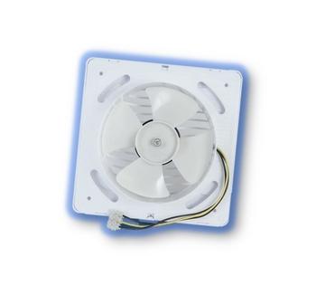 Exaustor para Banheiro - Diâmetro 15cm Vazão 300m3h 127Volts - p/Até 16m2 - ITC ED151 Branco - Renovador de Ambientes - OCP-003