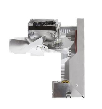 Exaustor para Churrasqueira Doméstica - Diâmetro 20cm Vazão 570m/h 127V - Exaustor ITC ED1104 1-Soquete p/Lâmpada - Exaustor Coifas Cozinhas