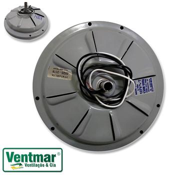 Motor do Ventilador de Teto VENTI-DELTA 127Volts 3Pás Cinza - Modelo Plus Light c/Luminária ou Plus Eco Comercial