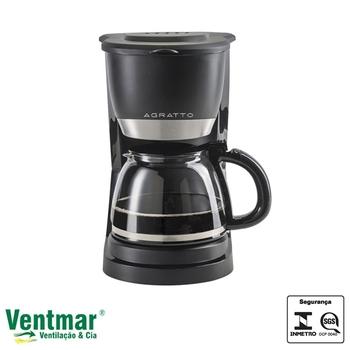 Cafeteira Elétrica Agratto Vetro - Faz até 15 Xícaras de Café - CEV15-01 127V - Cafeteira Elétrica 15 Xícaras Agratto VETRO CAFFE CEV15 – 15X