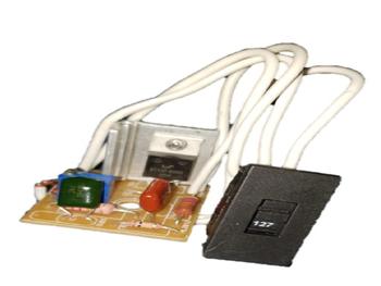 Chave Conversora de Voltagem para Ventilador Venti-Delta Premium Biv c/Placa De Circuitos Sem Dimer