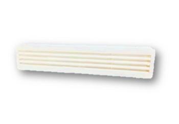 Grade Veneziana 43x08cm Grade Plástica de Encaixar para Ventilação em Porta - 430mmx80mm - GRADEPORT