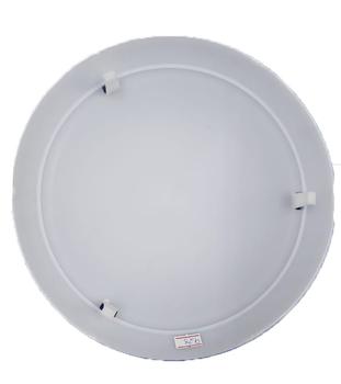 Globo Cúpula Plástica da Luminária do Ventilador Ventisol Flow para Placa de Led - 0234 BR - GLOBOVT