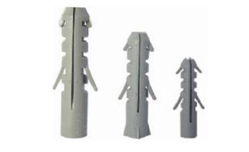Bucha S08 - KIT 50 Peças - Bucha Plastica de Fixação numero 08 - Kit c/50-Unidades