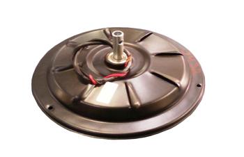 Motor do Ventilador de Teto RioPrelustres 220volts Preto 3 Pás - Usar c/Capacitor 04,0uF MTVT MTRPL