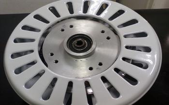 Motor do Ventilador de Teto Ciclone - 4pás - 127v - Branco - Equatorial - Com Rosca - Eixo 12mm - MT