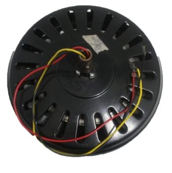 Motor do Ventilador de Teto Ciclone - 3pás - 220v - Preto - Com Rosca - Eixo 12mm - Usar c/Capacitor