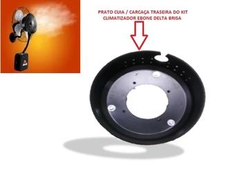 Contra Prato Cuia do Kit Climatizador Ebone Delta Brisa - c/Guarnicao - c/3 Porcas + 6 Calco + 6 Arr