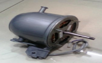 Motor Climatizador Aquaclima Turbo 127v 18,0uF - Motor Traseiro Lado da Hélice com Eixo de 09mm MTAQ