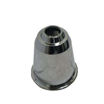 Canopla do Ventilador de Teto Loren SId Inf - Plástica Cromada