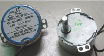 Motor de Giro Climatizador Ventisol CLI-01 127v 45Litros