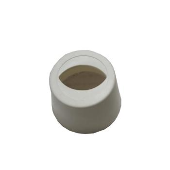 Canopla Plástica Inferior para Ventilador de Teto Spirit - Canopla/Copinho Plástico Acabamento Inferior da haste do ventilador SPIRIT Branca
