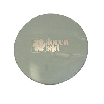 Emblema das Grades dos Ventiladores Loren Sid - Cor Branca