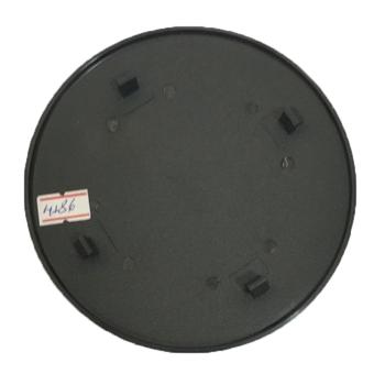 Emblema das Grades dos Ventiladores Venti-Delta - Cor Preta - Logomarca Premium Oscilante 4Pinos de Travamento