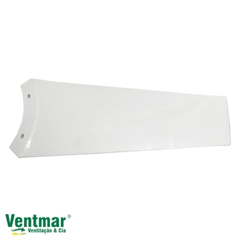 Pa Helice para Ventilador de Teto Aliseu Jet - Pá Plástica cor Branca - Pá Aliseu Jet Branca - *Vendida p/Unidade