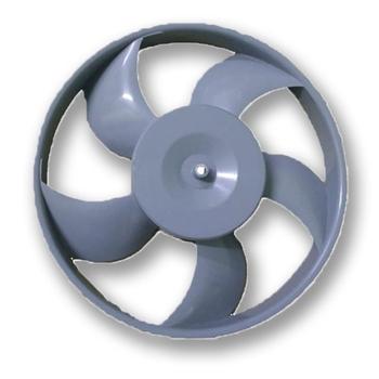 Helice para Climatizador Ventisol CLP 5Pás em ABS Cinza - Climatizador Pulverizante CLP01 CLP02 - Fu