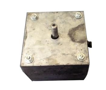 Motor para Exaustor Vent New 30cm - Motor para exaustor Vent New 40cm - Motor para exaustor Vent New 50cm 220volts - Eixo 10mm - Motor Quadrado de Alu