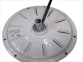Motor do Ventilador de Teto Loren Sid M3 - com Rosca - Branco - 3P 220v 04,0uF  - MTLSDVT