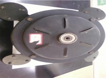 Motor do Ventilador de Teto Loren Sid M1 M2 - com Rosca - Preto - 4p 110v 010,uF - 2f - REC - MTLSD