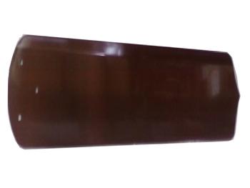 Pa Hélice para ventilador de Teto Loren Sid Motor M3 - SALDÃO - Plástica Reta cor Mogno - P091/MG -