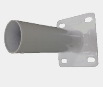 Suporte para Ventilador de Parede Ventisol 50/60cm Branco - Suporte de Parede para Ventilador Ventisol - Metal Branco SEM Canopla