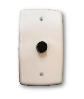 Chave para ventilador de parede ventnew atÉ 170w - espelho 4x2 dimer rotativo bivolts com off para v