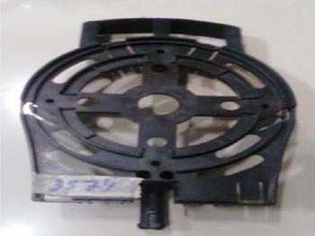 Tampa Dianteira do Ventilador Ventisol 50/60cm Plástica Geração 1 para Rolamento 6202 com Pino com A